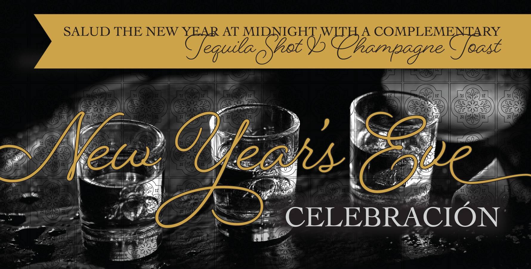 2020 New Year's Eve Celebración at Mariachi Bar