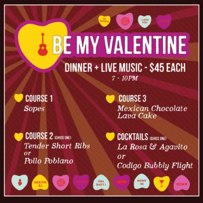 Día de San Valentín at Mariachi Bar